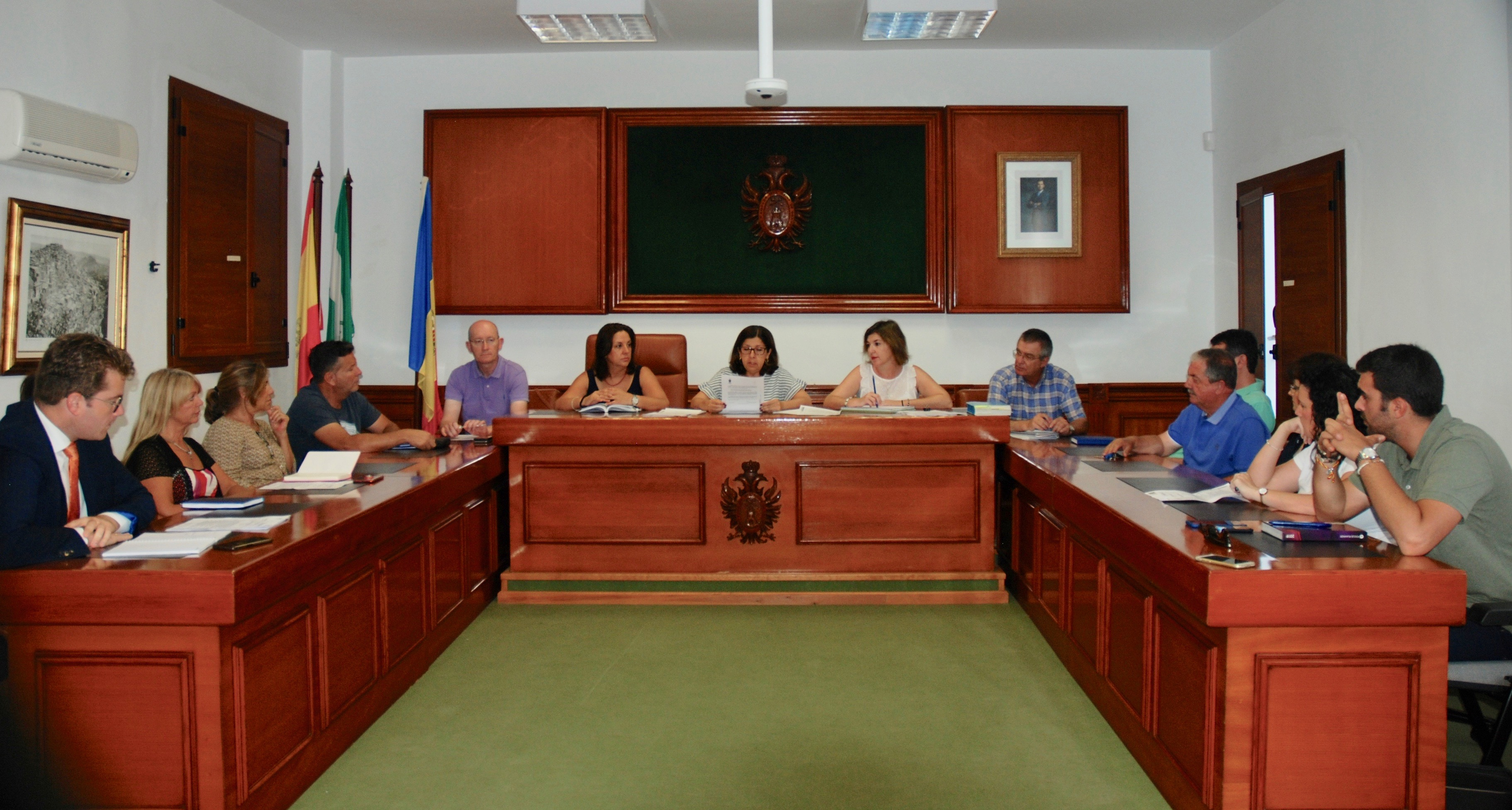 Mojácar recently held the first plenary session of the new term of office, in which the roles of the Councillors were approved for the next four years.